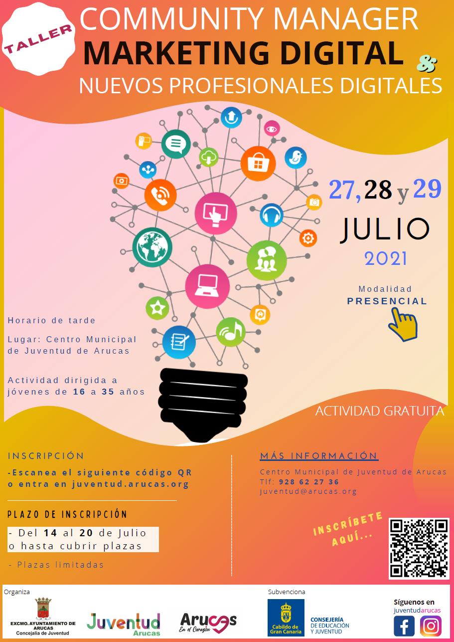 Cartel_Taller de Competencias Digitales 2021